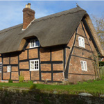 Peasant houses in Midland England